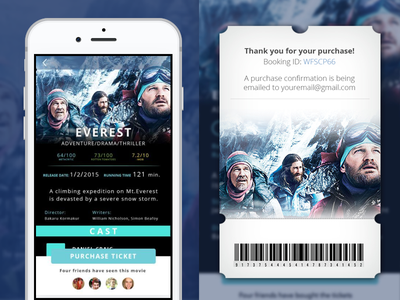 Movie App booking ticket app movie