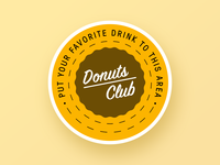 Coasters for Donut Club