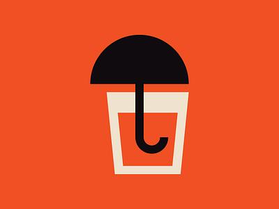 Drink poster vector ui pictogram graphic design print design icon illustration andreas wikström sweden