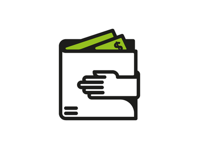 Safekeeping currency dollar moeny safe wallet icon design andreas wikström