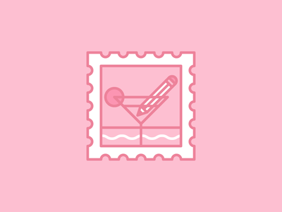 Procrastilater vacation procrastinate illustration icon design andreas wikström