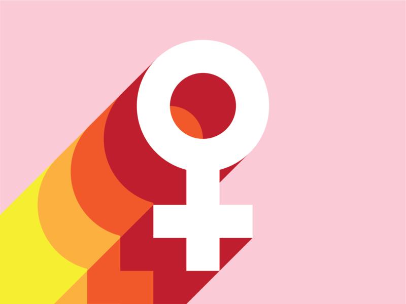 Empower feminist art herstory feminist feminism vector graphic design print andreas wikström