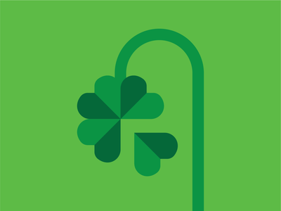 Out of luck clover charm lucky luck vector illustration andreas wikström