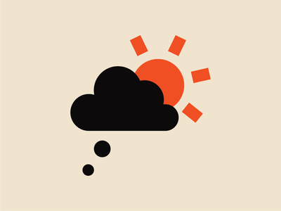 Daydreaming poster animation vector pictogram graphic design print design illustration andreas wikström