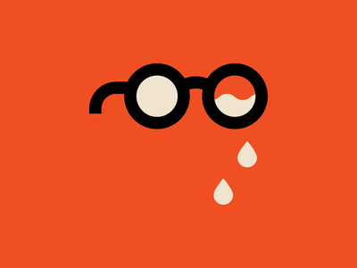 Crying poster vector ui pictogram graphic design print design icon illustration andreas wikström