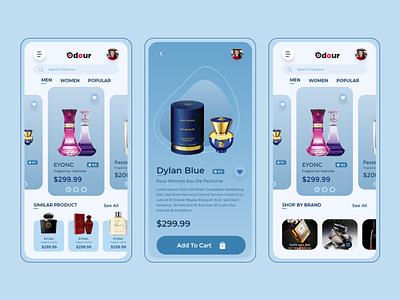 ECommerce Perfume Online iOS UIKIT uikit ux uiux designer dating app ecommerce design social media app uiux uiux prototype illustration ui design iso uiux app