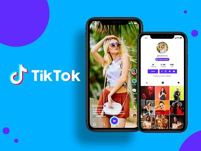 Tiktok App Redesign