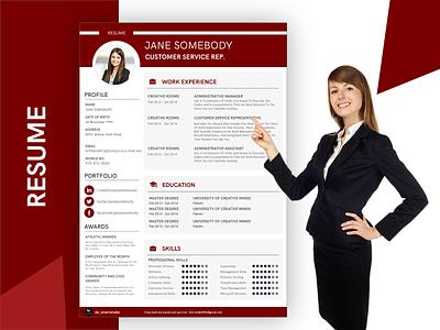 CV & Resume Website, Personal Portfolio