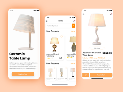 Lamp online shop - Lamp Ecommerce Shop