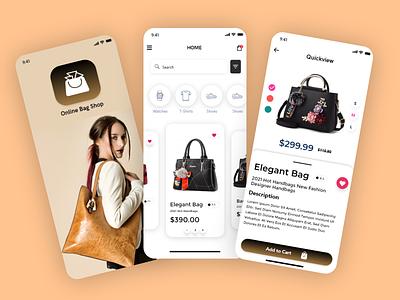 Online Ladies Bag Shop - valentine day Shop - Ecommerce