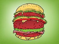Dribbble Burger2