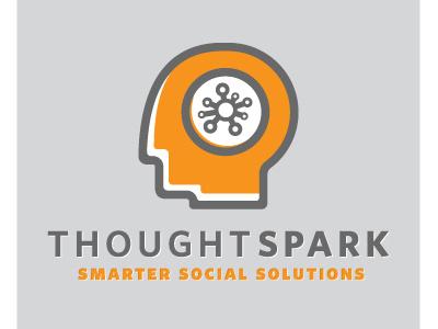 ThoughtSpark thoughtspark branding identity cmyk