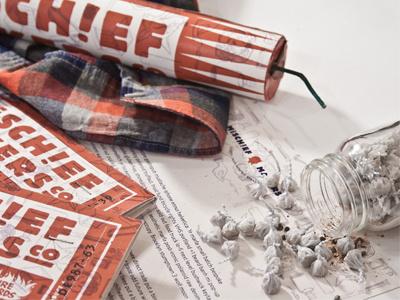 Mischief Maker's Packaging packaging print mischief makers branding lookbook