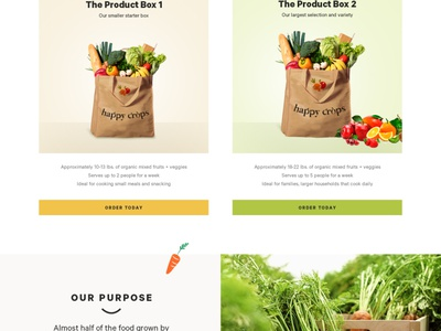 Happy Crops design shopify app graphic design branding illustration ecommerce website web ui ux