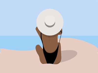 Summer vector summer illustration