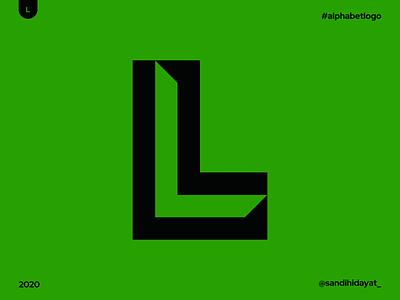 AL012 - Letter L geometric typography symbol startup logo logotype logos letter l logo brand identity 36 days of type minimal vector mark logodesigner logo letter l identity designer design branding brand