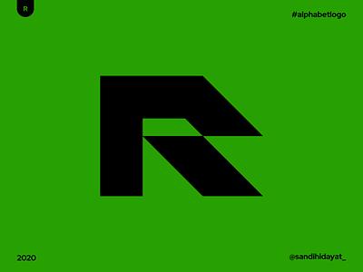 AL018 - Letter R geometric typography symbol startup logo logotype logos letter r logo brand identity 36 days of type minimal vector mark logodesigner logo letter r identity designer design branding brand