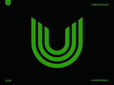 AL021 - Letter U monogram typography symbol startup logo logotype logos letter u logo brand identity 36 days of type minimal vector mark logodesigner logo letter u identity designer design branding brand