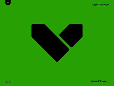 AL022 - Letter V letter v logo letter v alphabet typography symbol startup logo logotype logos brand identity 36 days of type minimal vector mark logodesigner logo identity designer design branding brand