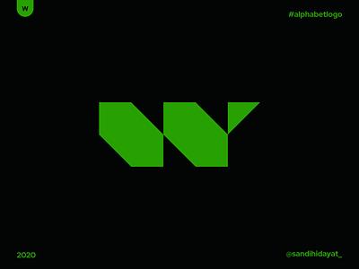 AL023 - Letter W geometric typography symbol startup logo logotype logos letter w logo brand identity 36 days of type minimal vector mark logodesigner logo letter w identity designer design branding brand