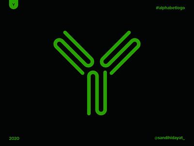 AL025 - Letter Y alphabet typography symbol startup logo logotype logos letter y logo brand identity 36 days of type minimal vector mark logodesigner logo letter y identity designer design branding brand