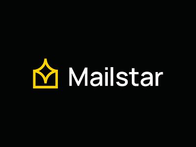 Mailstar Logo Design visual identity unused star symbol startup logo mail modern logos logo designer logo design logo identity icon star logo mail logo design branding brand identity brand