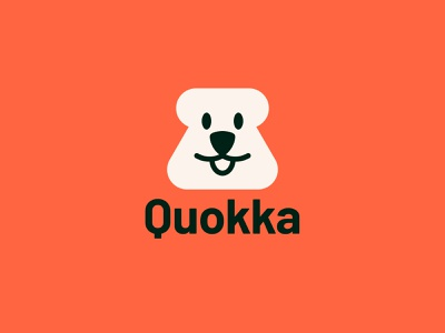 Q - Quokka symbol logodesigner identity vector minimal logos design animal bear logo animal logo logo challenge logo designer logo quokka logo quokka