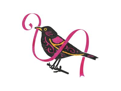 Myrlo Crafts & Goodies mirlo bird decoration wedding visorstudio design mexico sonora hermosillo type logotipo logo