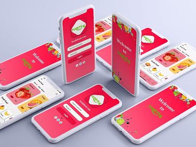 Fruits mobile app ui design food mobile fruits uidesign mobile app design app ui design userinterface app design