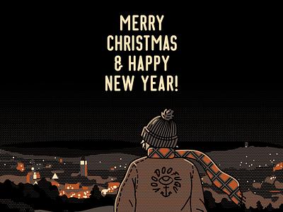 Ho ho ho!🎅 happy new year merrychristmas artwork design art graphicdesign illustration voodoofugu