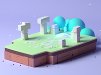Small Land Crystal