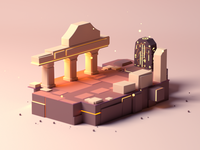 Small Land Altar
