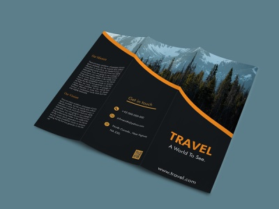 Tri-fold Brochure designinspiration brochure design brochure layout brochure template behance project advertising design graphicdesign dribbleshot design