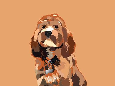 Fury Dog vectors vector art fury dog illustrations  wallpaper illustration digital illustraion dog illustration vector illustration illustration art art brochure design illustrations illustrator advertising vector branding design illustration