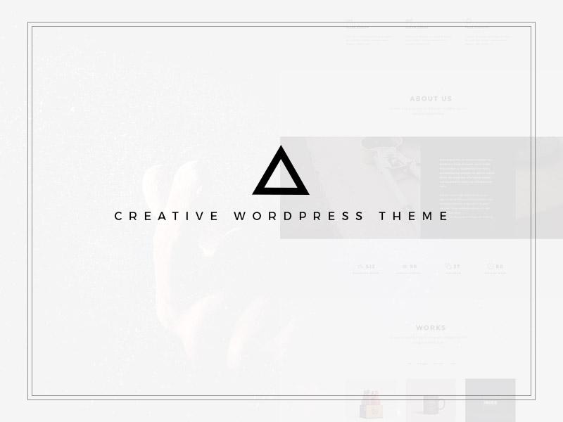Candy WordPress Theme personal onepage wordpress clean web