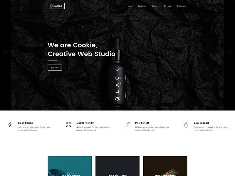 My New WordPress Theme web design app landing wordpress shop portfolio onepage multipurpose clean agency