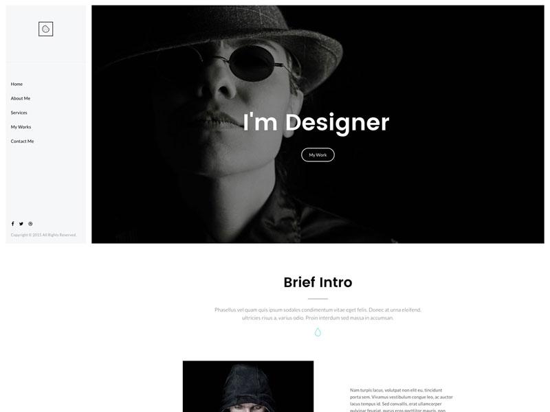 Cookie - My Recent WordPress Theme wordpress design web shop portfolio onepage multipurpose clean landing app agency