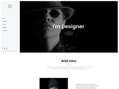 Cookie - My Recent WordPress Theme wordpress design web shop portfolio onepage multipurpose clean landing app agency