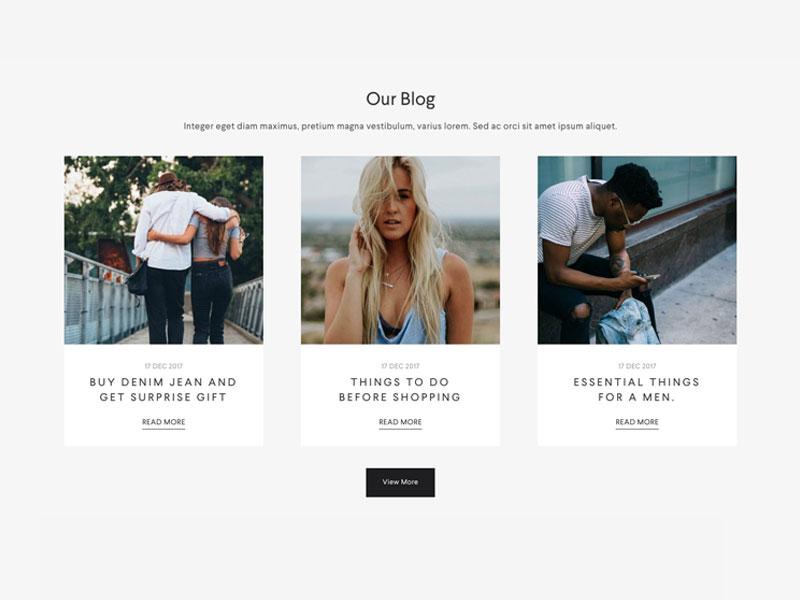 Halena - Upcoming eCommerce WordPress Theme web design modern website themeforest wordpress minimal ecommerce shop