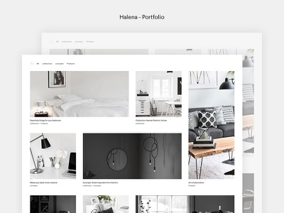 Halena - Upcoming eCommerce WordPress Theme shop ecommerce minimal wordpress themeforest website modern web design