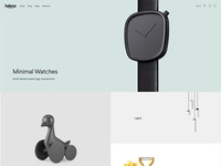 Halena - Minimal & Modern eCommerce WordPress Theme - Homepage