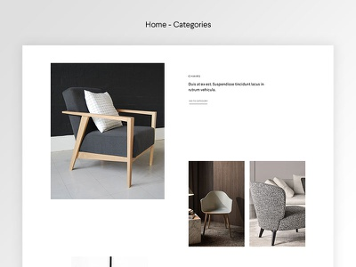 Halena - Minimal & Modern eCommerce WordPress Theme - Categories web design modern website themeforest wordpress minimal ecommerce shop