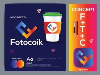 f+t+c letter logo mark. gredient logo logo trends 2021 logo folio 2021 logotype logo designer logo design logo and branding letter mark colorful logo letter logo agency logo eye catching logos branding design modern logo brand identity creative logo abstract logo logo branding