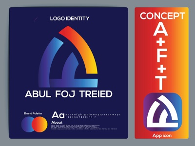 a+f+t letter logo mark | modern  logo design. logo mark logodesign popular dribbble short logo trends 2021 colorfuls colorful logotype logo folio2021 logo designer logos eye catching modern logo design icon brand identity creative logo abstract logo logo minimal branding