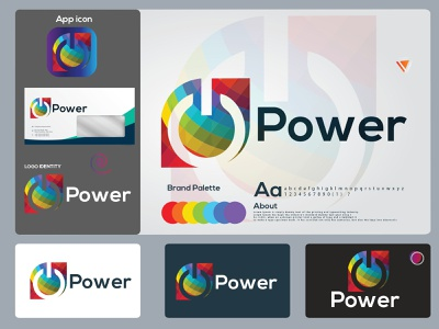 power abstract logo design. logo folio 2021 app icon logo mark letter logo illustration logos hire logo designer portfolio power branding design eye catching design modern logo icon brand identity creative logo abstract logo logo minimal branding