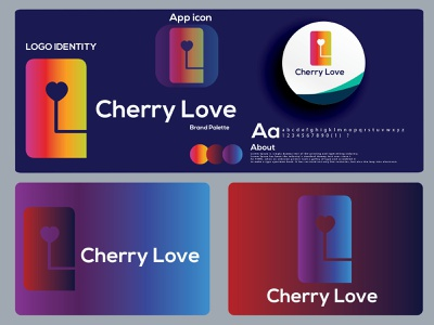 c modern  letter logo | cherry love logo design. colorful hire logo designer dribbble best shot logo trends 2021 logotype c modern logo letter mark logo c letter logo branding design brand eye catching icon modern logo design minimal logo brand identity creative logo abstract logo branding