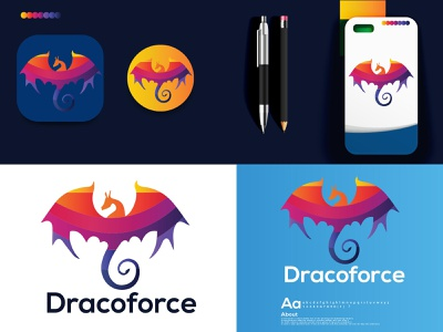 dragon modern logo logoset logodesign logos dribbble best shot gradient logo logo design dragon logo dragon dragon modern logo logo designer logotype logo folio 2021 logo trends 2021 eye catching modern logo minimal branding brand identity creative logo abstract logo