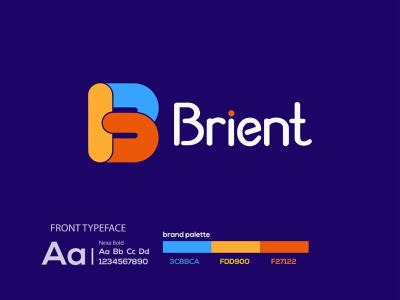 b letter mark logo | modern logo colorful logodesigner b letter b letter mark logo design eye catching modern logo minimal creative logo branding brand identity abstract logo
