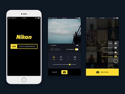 Nikon Companion mobile ui ux remote nikon