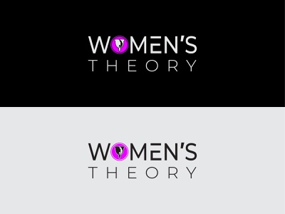 Women's Theory Jogo typography illustration illustrator vector logo graphic design art design branding